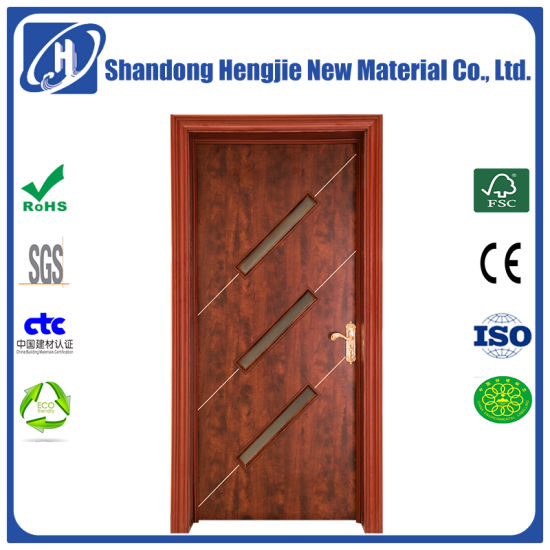 China Wood Polymer Composite Anti-Fire WPC Interior Door with Frame ...