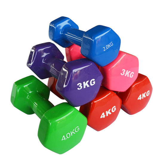 Colorful Hex Dumbbell
