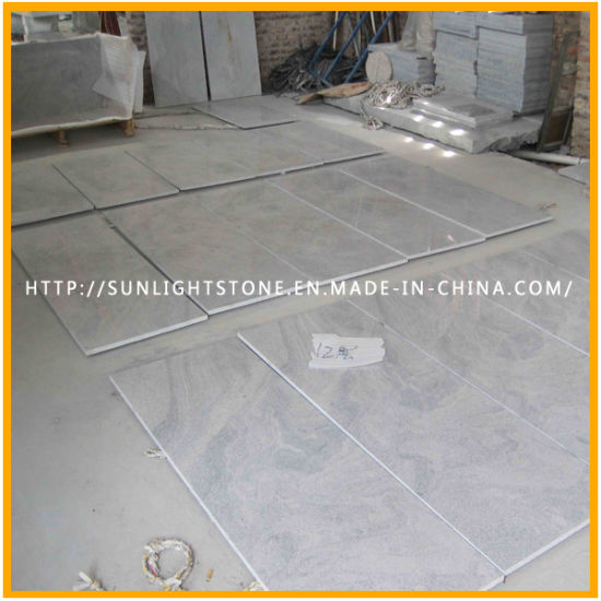 China Natural Polished Viscont White Granitemarble Stone Flooring