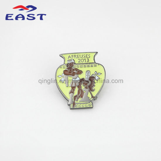Colorful Creative Shape Metal Badge pictures & photos