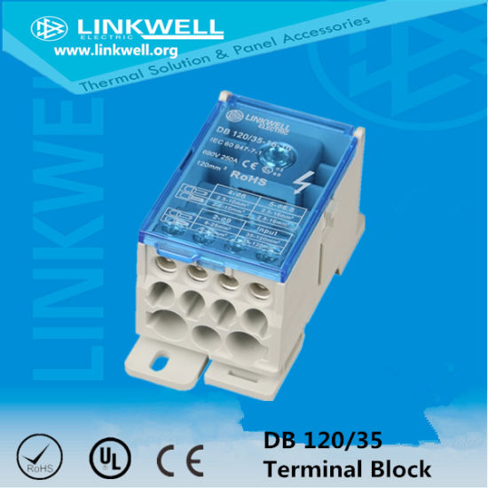 85AMP Cable Connector Distribution Terminal Block with Ce Certificate (LK 80A) pictures & photos