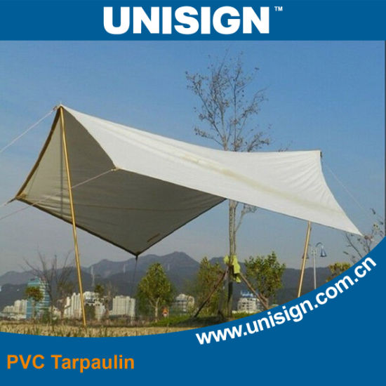 Waterproof, Anti-UV PVC Tarpaulin for Tent pictures & photos