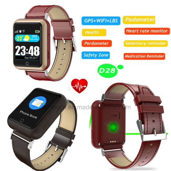 Fitness Monitor GPS Tracker Watch with Real Time Tracking pictures & photos