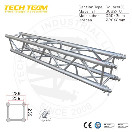 China Truss Display Factory Spigot Bolt Truss System for Outdoor and Indoor Event