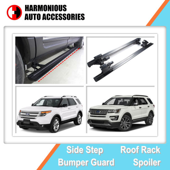 Rangerover Style Electric Side Steps for Ford Explorer 2011 - 2014, 2016-2018