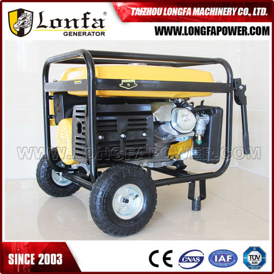 16HP Engine 7kVA Home Use Petrol Generator with Handle & Wheels pictures & photos