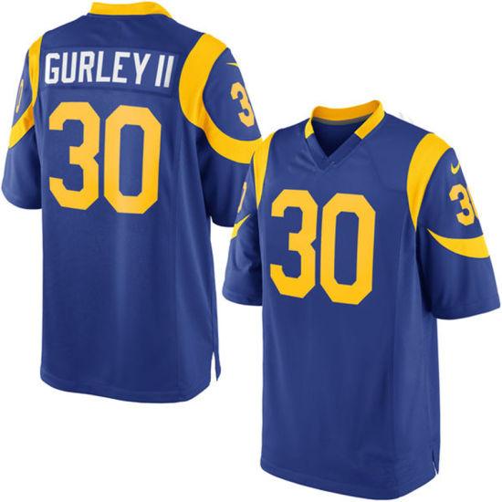 China Custom Customized Rams Jerseys 30 Todd Gurley II Football ... 04b080da4