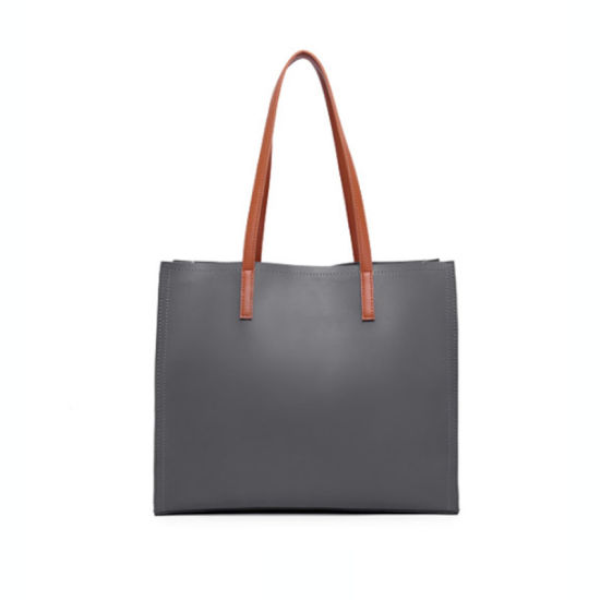 f733d39b418c China Fashion Large Handbag Tote PU Leather Bag for Ladies Women ...
