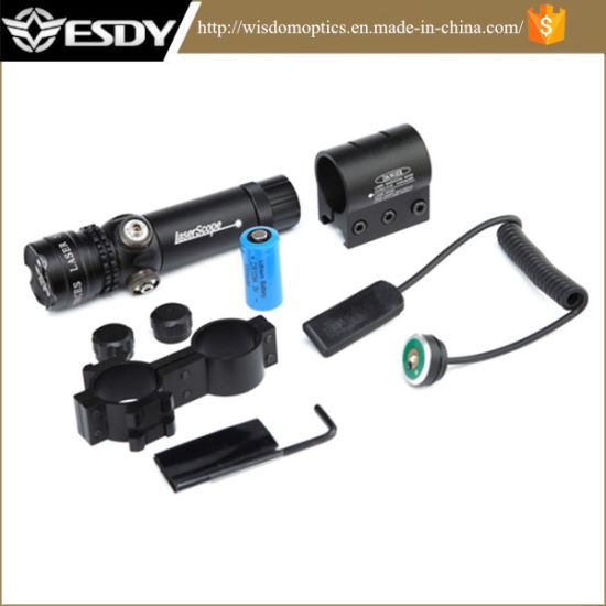 Green Rifle Tactical Green Laser Sight with Pressure Switch and 2 Mounts