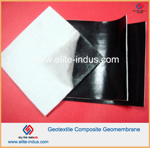 200g 1.0mm 200g HDPE Composite Smooth Geomembrane and Geotextile pictures & photos