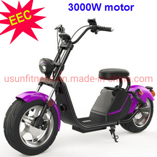 China EEC Approved Electric Scooter 3000 W Motor Motorcycle