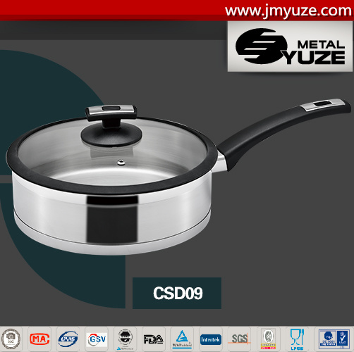 Stainless Steel Cookware, Hotel Kitchen Ware, Saute Pan, Cookware Set, Induction Ready