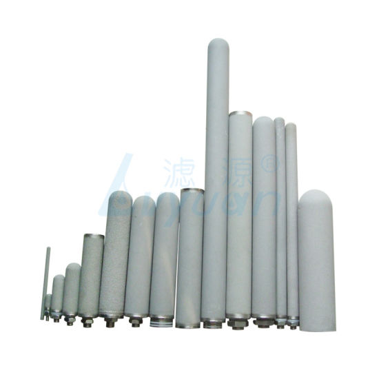 0.2 0.45 1 5 10 Um Sintered Porous Metal Water Filter/Titanium Filter Element pictures & photos