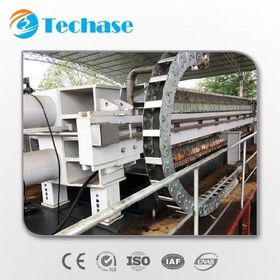 Techase Ks Series Filter Press for Municipal Sludge Dewatering Machine