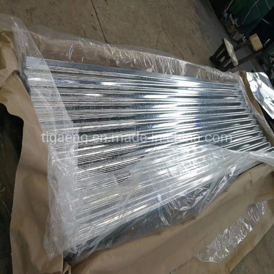 China Corrugated Zinc Sheet Metal Roof Tile China