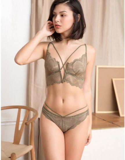 ec58ffa6d566 Women See Through Lace Bra and Panties Set - China Triumph Bra ...