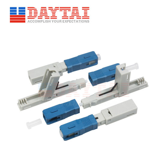 Repeated Use Fiber Optical Sc Fast Connector pictures & photos
