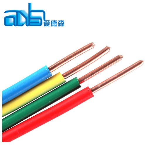 Copper CCA Aluminum Steel PVC PE Nylon Electric Cable Wire