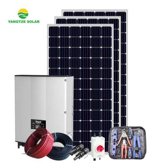 Easy Installation on Grid 2kw 3kw 4kw 5kw 6kw 7kw 8kw 10kw Solar System for Home