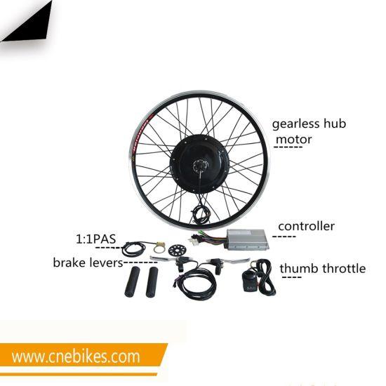 Electric Bicycle Engine Kit 48V 1000W Brushless Gearless Hub Motor