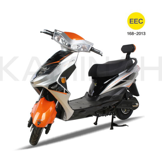 EEC Electric Scooter 60V 20ah 1200W E-Scooter Electric Vehicle E Motorcycle Iris