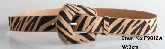 2019 New Fashion Women Zebra-Stripe Belt