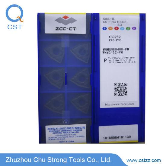 10PCS//LOT ZCCCT WNMG080408-DM YBC252 WNMG432-DM Carbide Inserts NEW