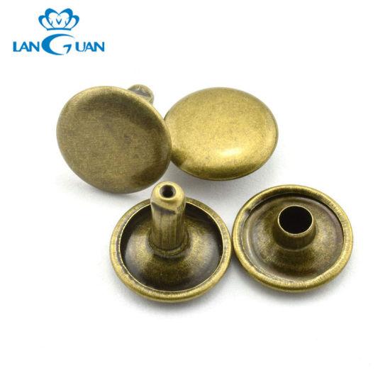 Various Type Custom Leather Metal Rivet Button