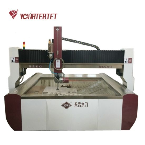 High Pressure Abrasive 5axis Marble Granite Tile Waterjet Cutting Machine