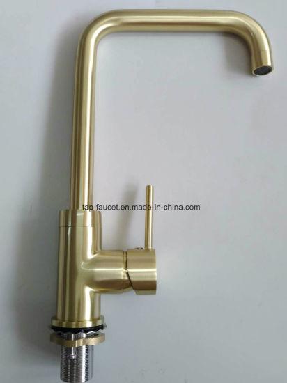 gold kitchen faucet. Watermark Kaiping Taps Factory Brushed Gold Kitchen Basin Faucet N
