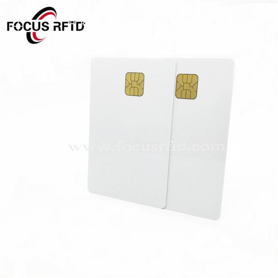 PVC/Pet Plastic Card, Contact IC Card, Security Card Bank Card