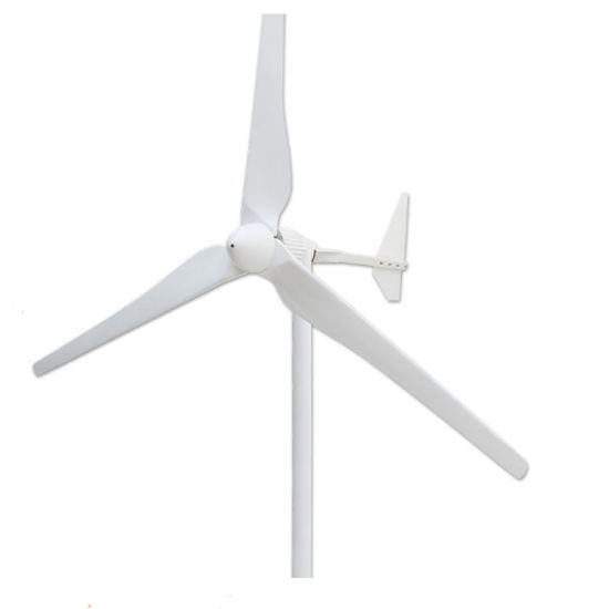 Horizontal Axis 3 Blades 24V 48V Wind Generator Turbine pictures & photos