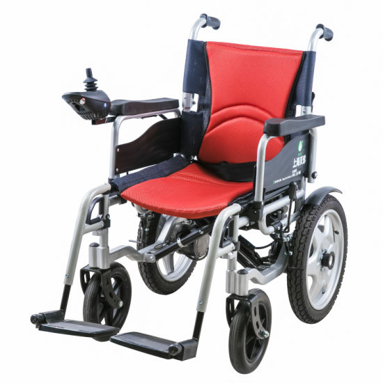 Good Price Nice Quality Electric Folding Wheelchair pictures & photos