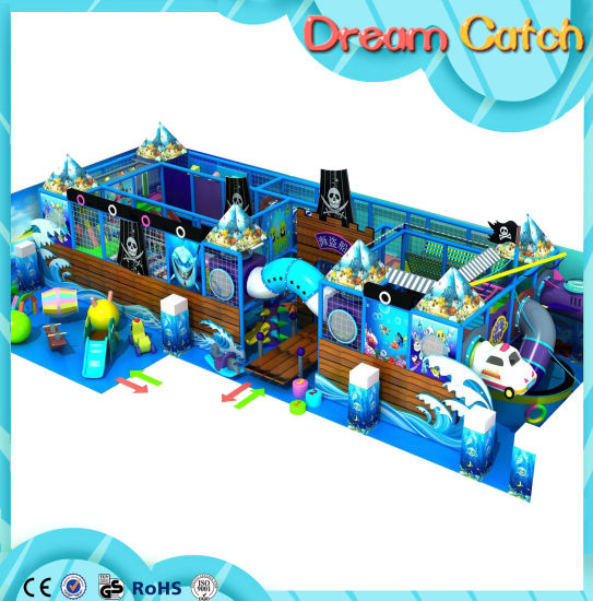 Amusement Castle Large Indoor Playground Children Playground Indoor Soft Playground pictures & photos