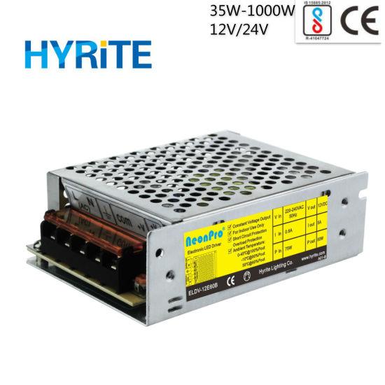 60W 24V Indoor Use 12V LED Driver for LED Module