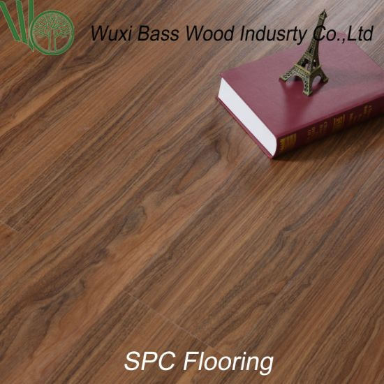 China Click Locking Joint System Spc Flooring Formaldehyde Free
