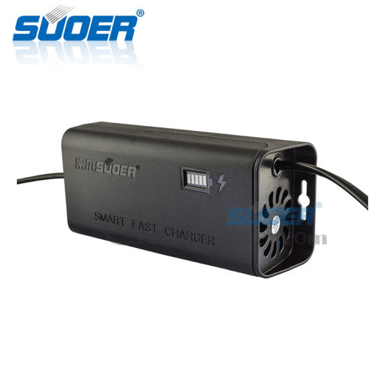 Suoer 12V 5A Rechargeable Battery Charger Fast Charger (SON-1205D) pictures & photos