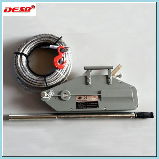 China Portable Manual Tirfor and Wire Rope Puller Hoist - China Wire ...