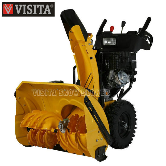 "270cc 28""Chain Drive Snow Blower pictures & photos"
