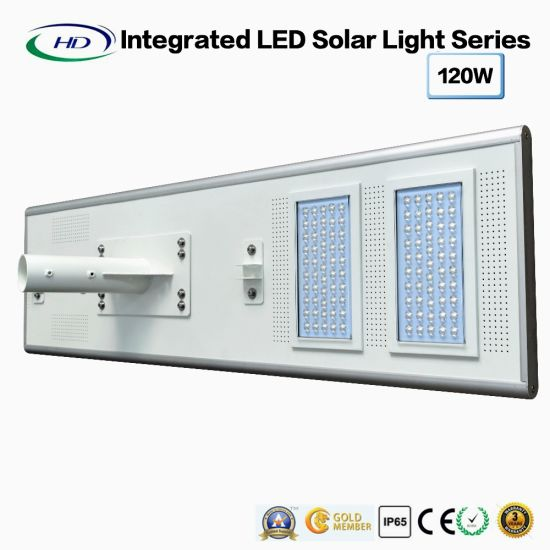 High Power All-in-One Solar LED Street Light 120W pictures & photos