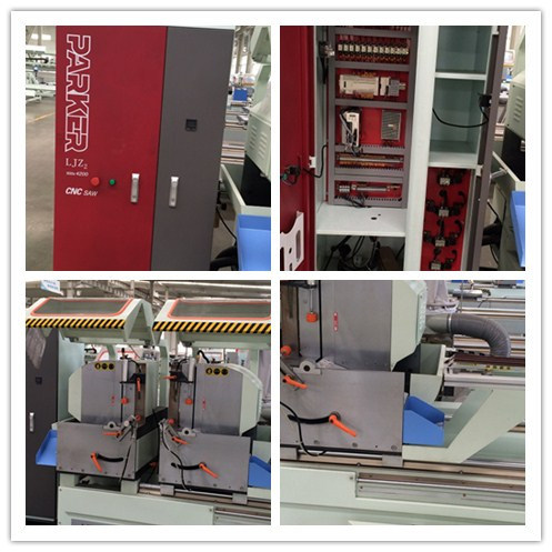 Aluminum Profile Window Door CNC Automatic Double Head Cutting Saw pictures & photos
