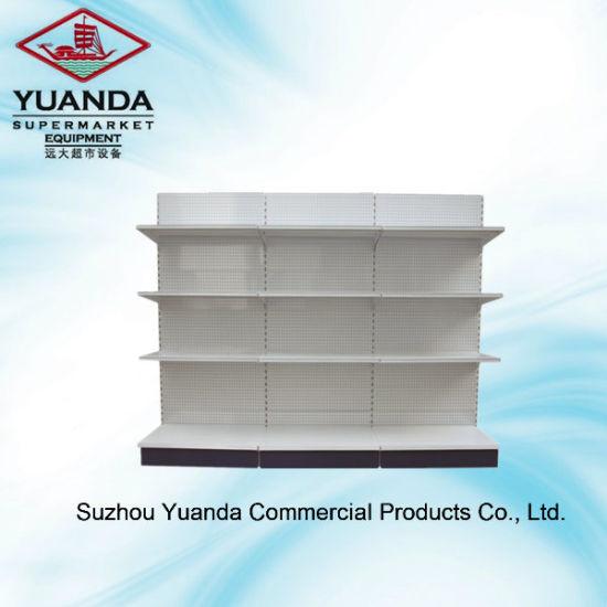 Wholesale Metal Perforated Back Shelf/Rack Yd-S003