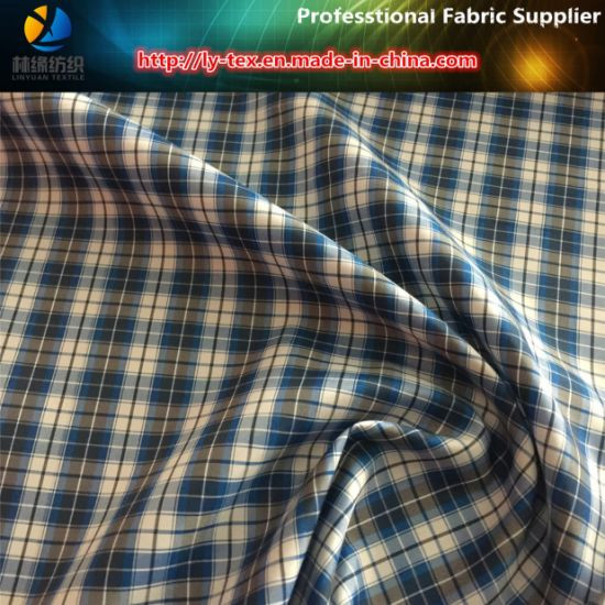 Prompt Goods, Polyester Check/Plaid Fabric, Woven Fabric (X028-30) pictures & photos