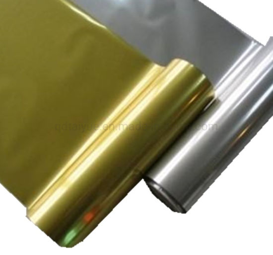 12mic Metalized Pet Film for Bubble Aluminum Foil Heat Insulation Lamination pictures & photos