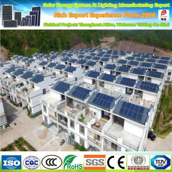 Hot Selling 3kw 5kw off Grid Hybrid Solar Power System Solar Energy Panel System for Home Price 3000W 5000W with Battery