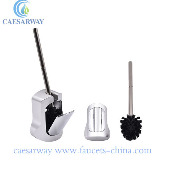 Wholesale Sanitary Ware Bathroom Accessories Chrome Toilet Brush Holder
