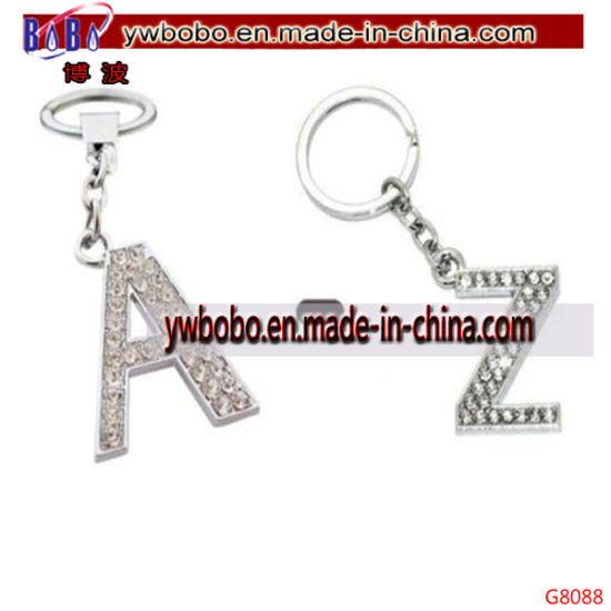 China Christmas Gifts Keyring Letter Key Ring Key Chain G8088