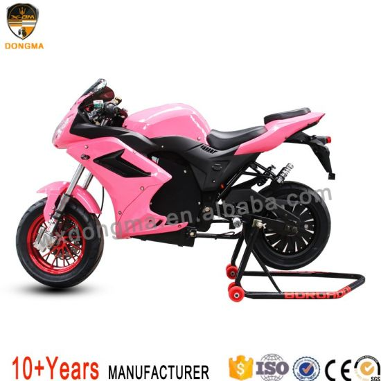 New Design Electric Motorcycle with Lithium Battery LED Light