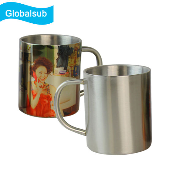 300ml Stainless Steel Mug for Sublimation Printing pictures & photos