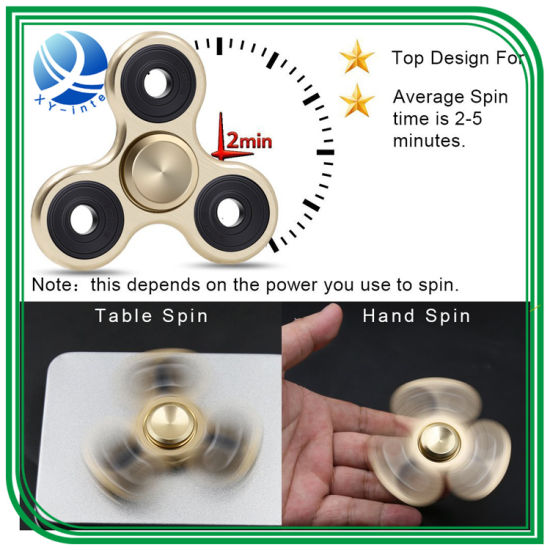 2017 Best Seller High Quality Hand Fidget Toy Fingertip Gyroscope Fidget Spinner pictures & photos